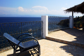 Punta Aria Holiday Farm apartments on the sea on Vulcano Lipari Aeolian Islands